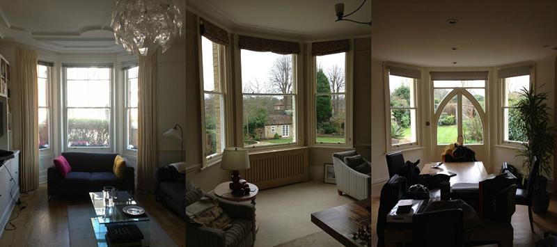 interiors of windows refurbished by windsor box sash windows