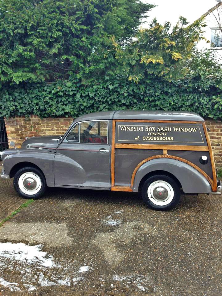 Our Morris minor van call 07938580158